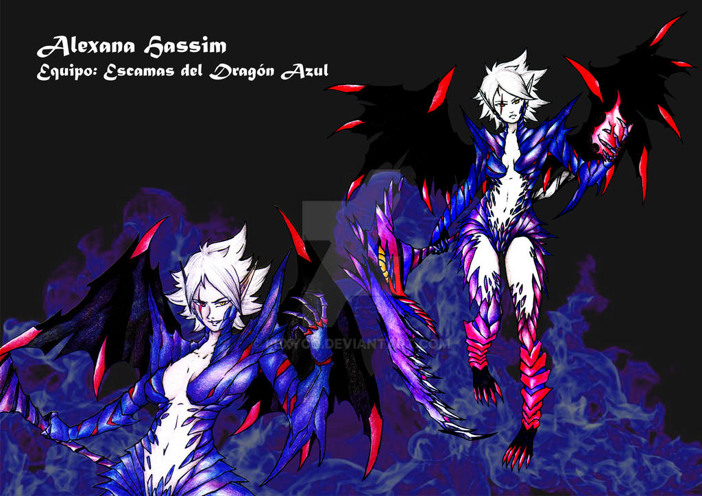 Character Concept - Alexana Hassim 2nd Form by Lexyco