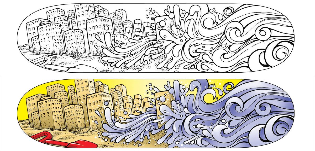 Tsunami by tjunio