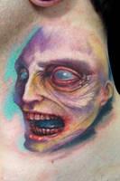 Zombie by maximolutztattoo