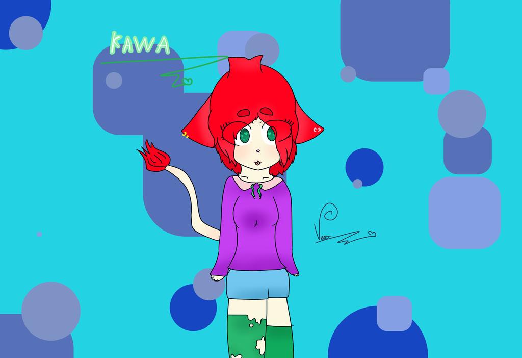 Kawa Oc by CherryHauntter