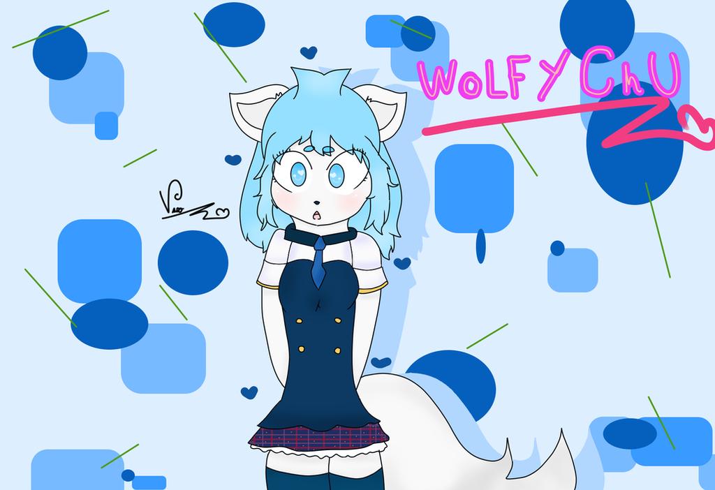 Wolfychu! (gift) by CherryHauntter
