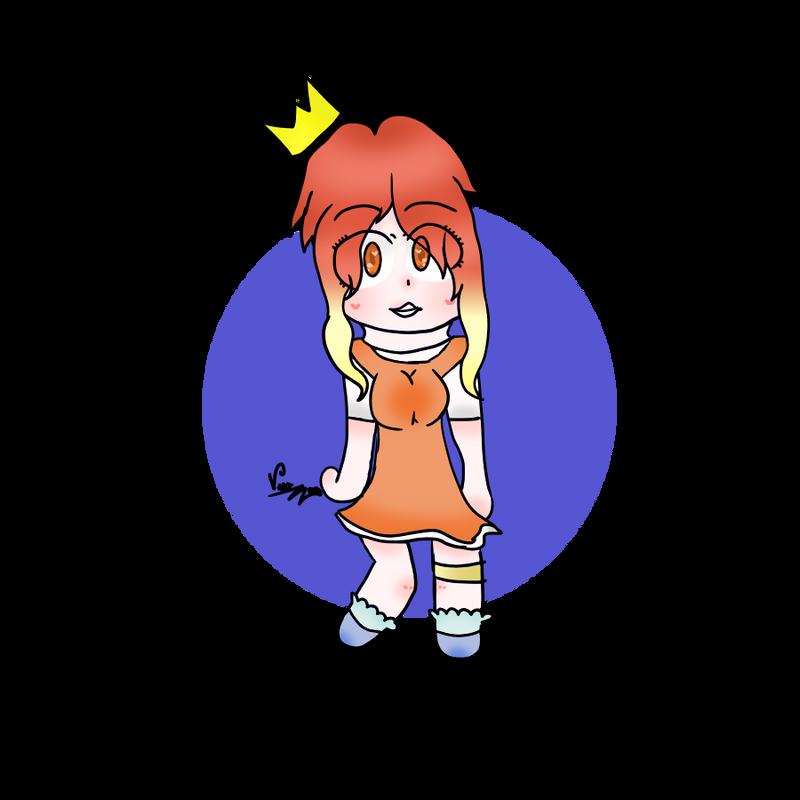 Magikarp girl by CherryHauntter