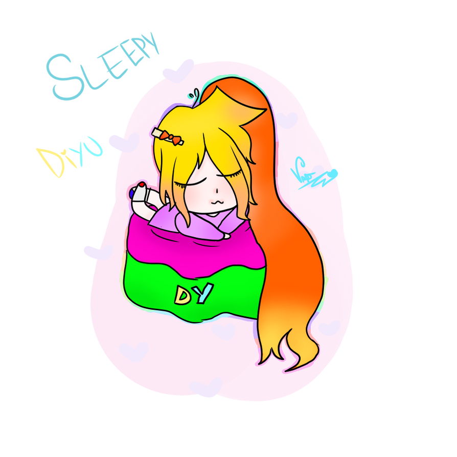SleepyDiyu by CherryHauntter