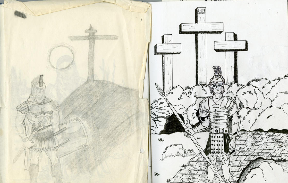 Roman Soldier Redraw by Grunt88