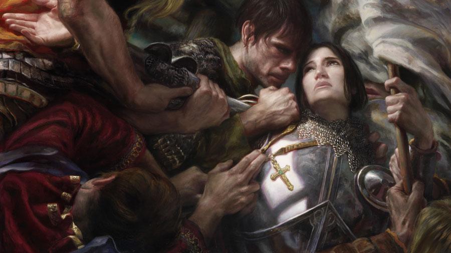 Joan of Arc by DonatoArts