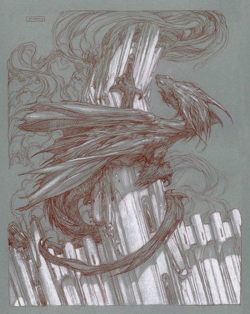 Fall of Gondolin by DonatoArts