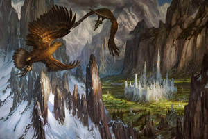 Huor and Hurin Approaching Gondolin