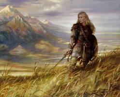 Eowyn DefenderofRohan by DonatoArts