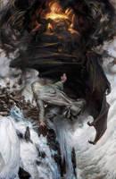 'I threw down my enemy' - Gandalf on Zirak-zigil