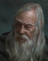 Gandalf in Moria