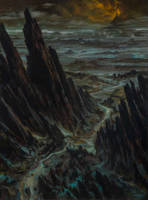 Road to Mount Doom by DonatoArts