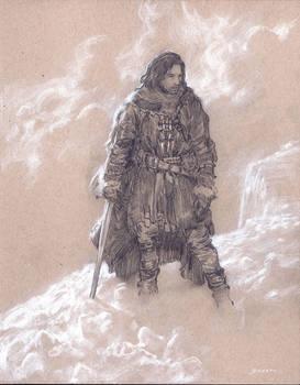 ASoIaF - JonSnow - On The Wall