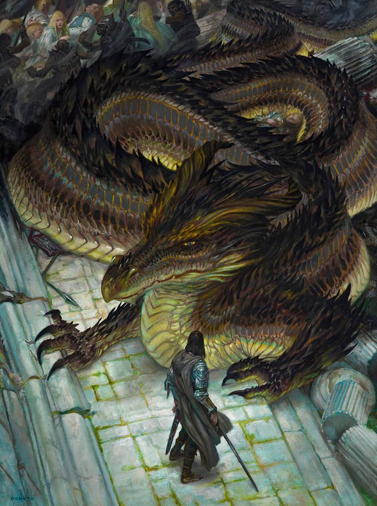 Sack of Nargothrond by DonatoArts