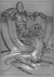 Power-A.I.  - Preliminary Drawing by DonatoArts
