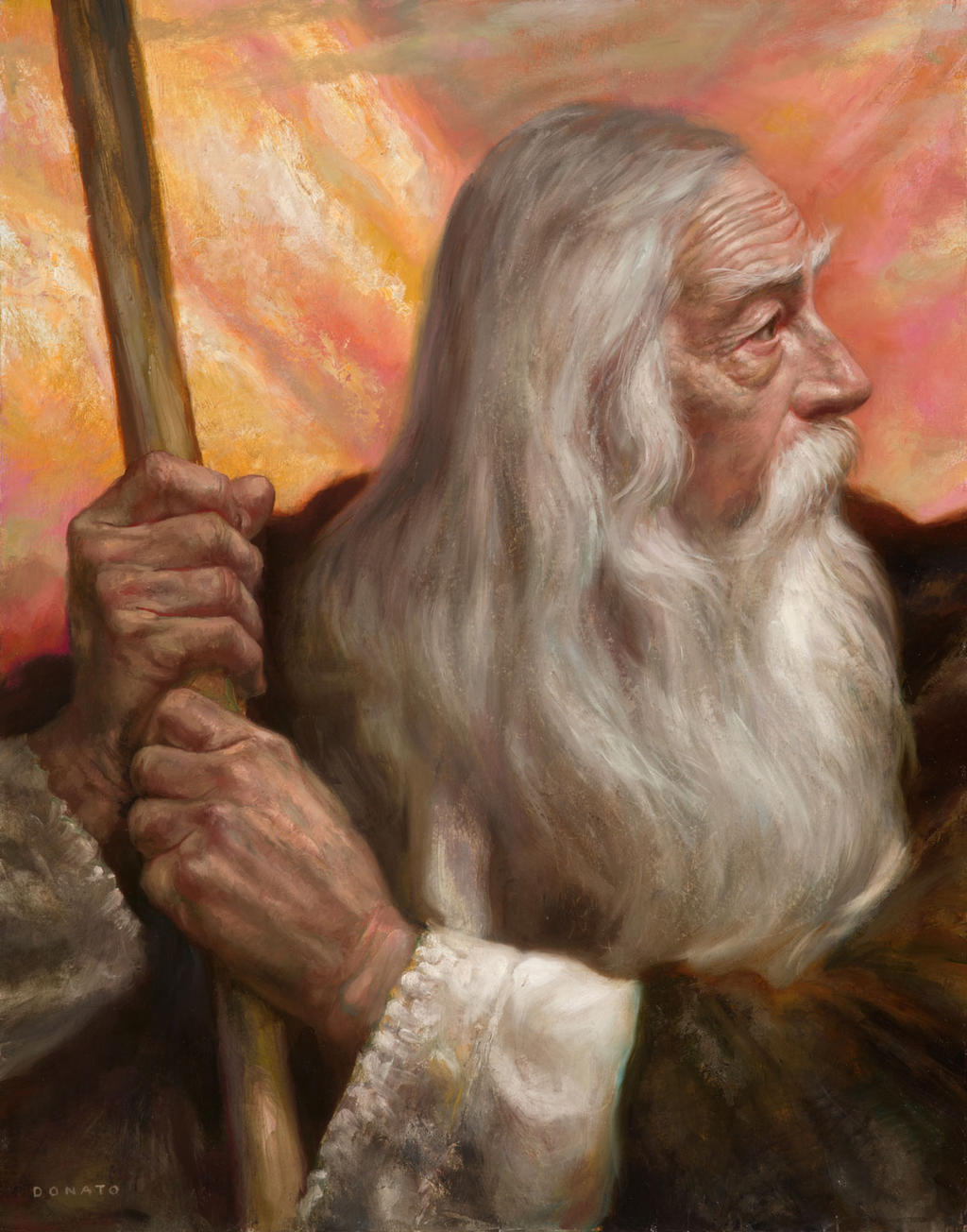 Gandalf-Caradhras by DonatoArts