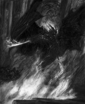 The Balrog of Moria - Durin's Bane