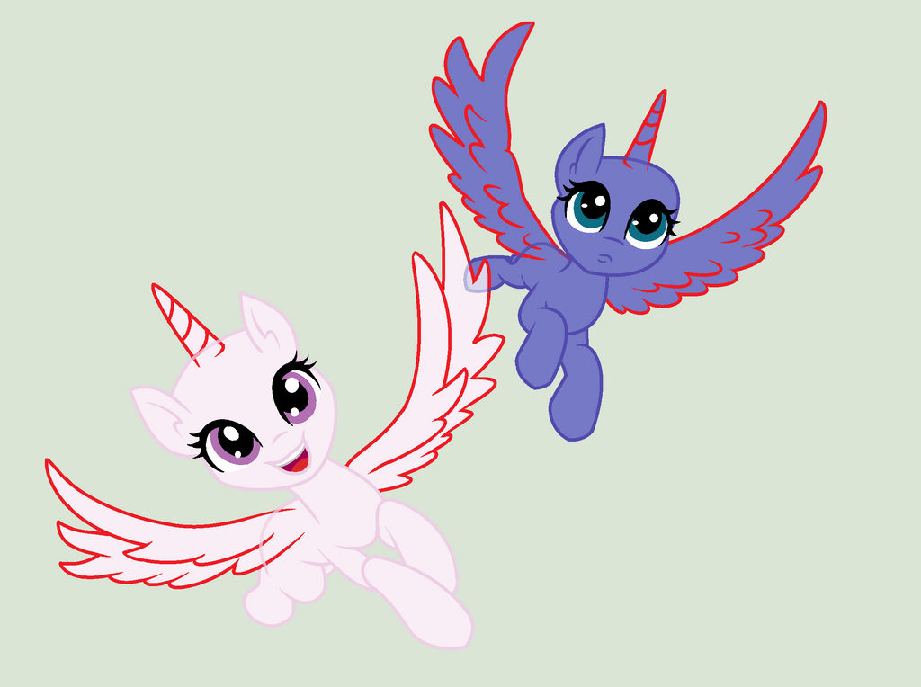 Mlp Alicorn Base: Mlp Princess, Alicorn Base By LunaApple On DeviantArt