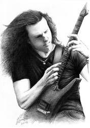 Chuck Schuldiner by AminVakili