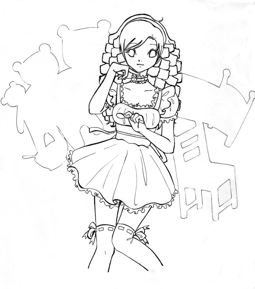 free goldilocks coloring pages - photo#15