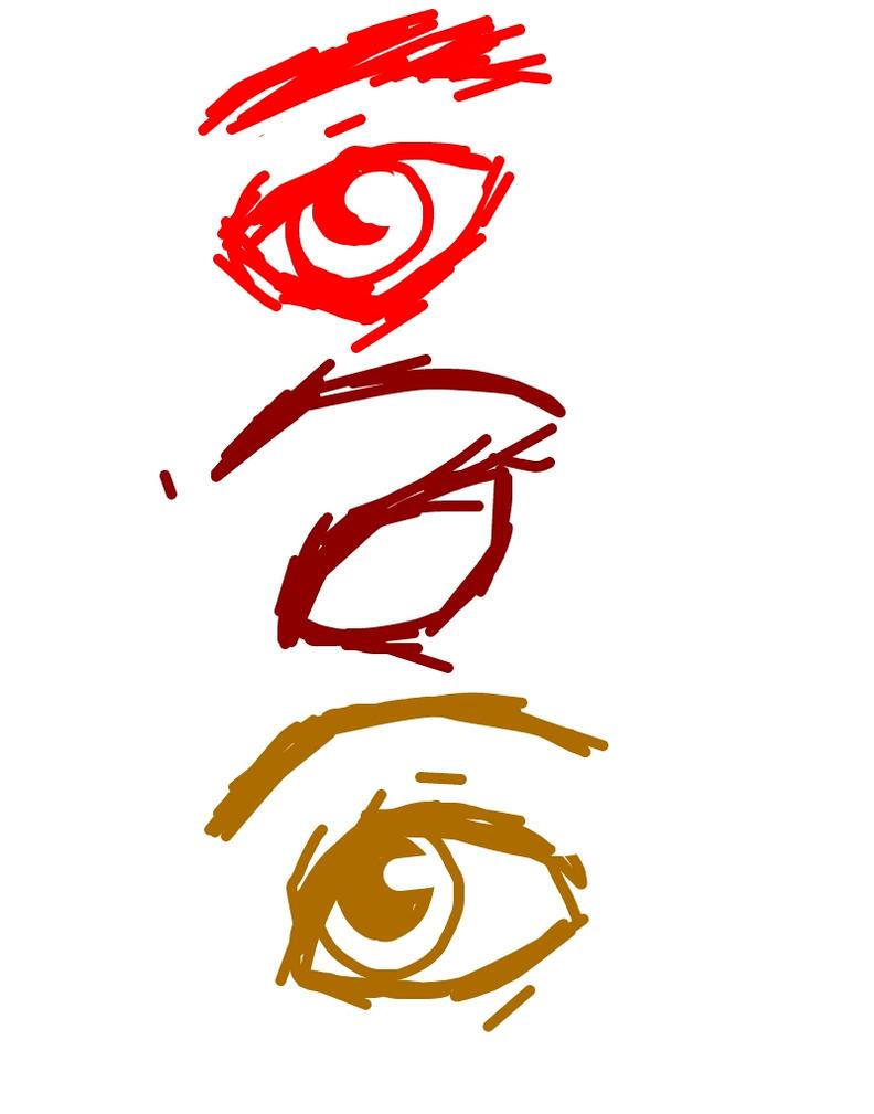 Homestuck ancestor eyes (suf han sum) by VioShadowLover