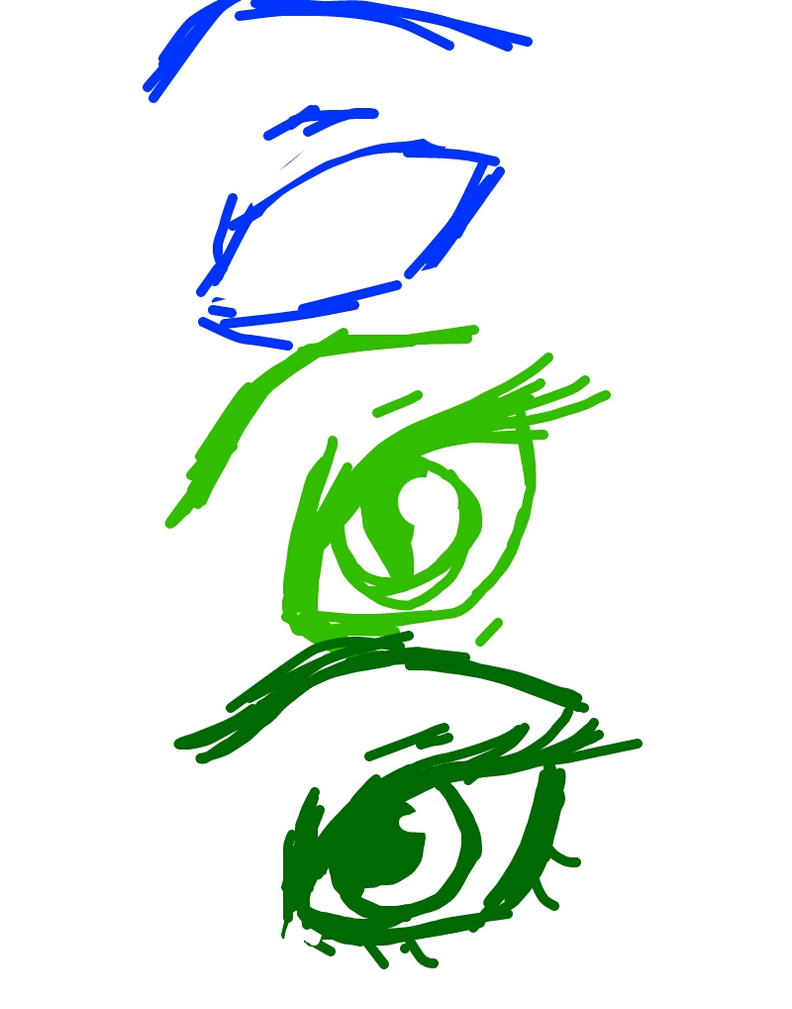 Homestuck ancestor eyes (psii des dol) by VioShadowLover
