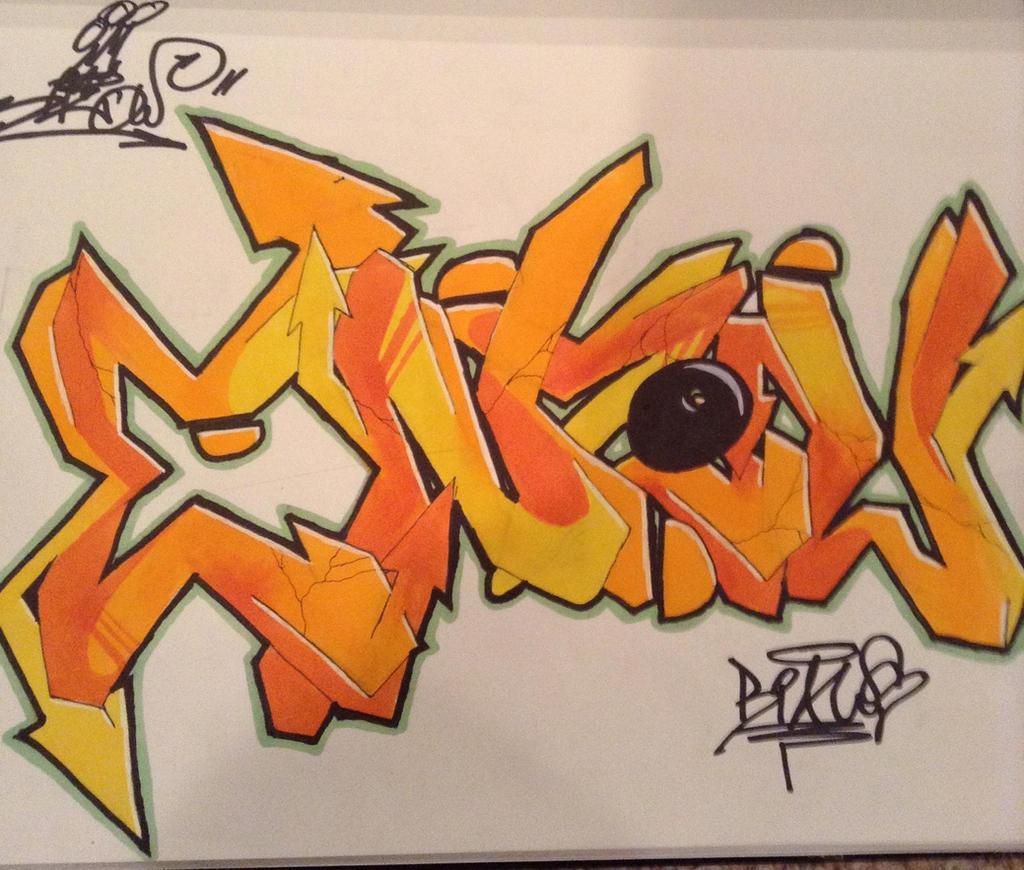 Black Book Graffiti 83