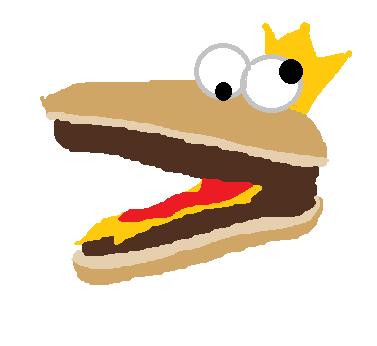 Mr.burger by TropicaIDeer