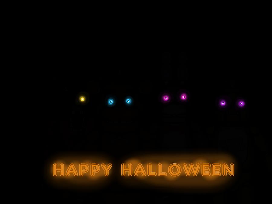 Fnaf Halloween by TropicaIDeer