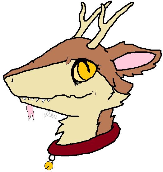 Sanstas reindeer by TropicaIDeer