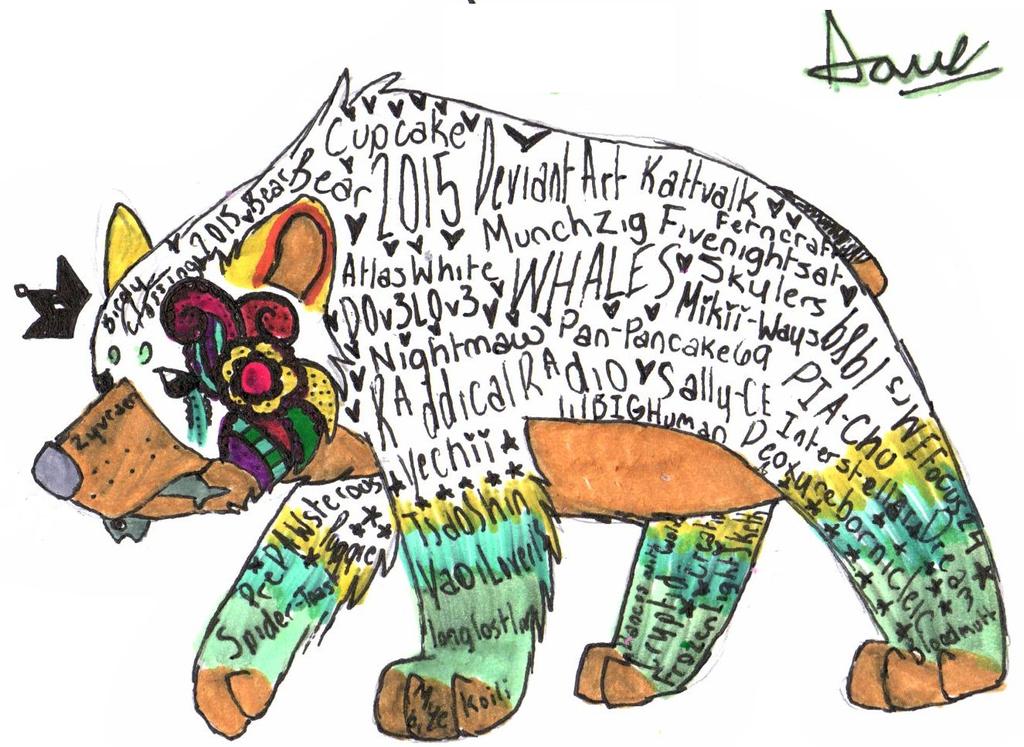 Bear of 2015 by TropicaIDeer