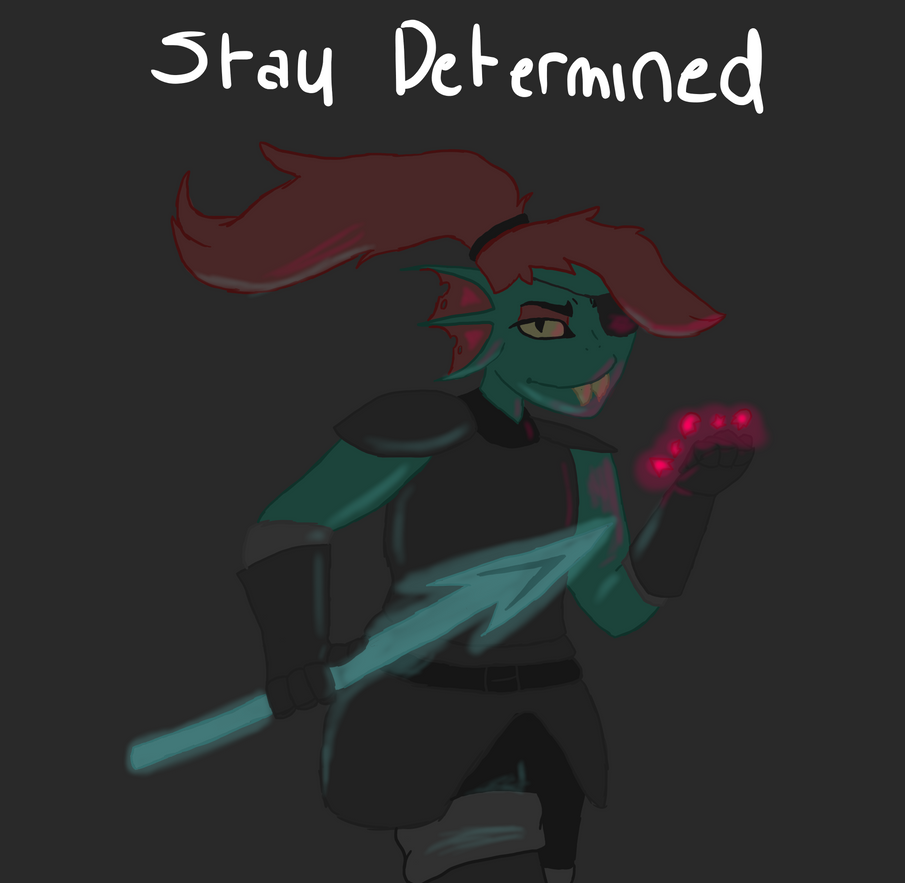 Undyne The Undying by TropicaIDeer