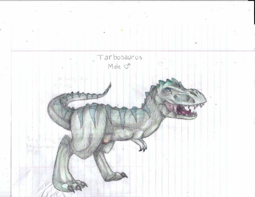Male Tarbosaurus Shaded by TropicaIDeer