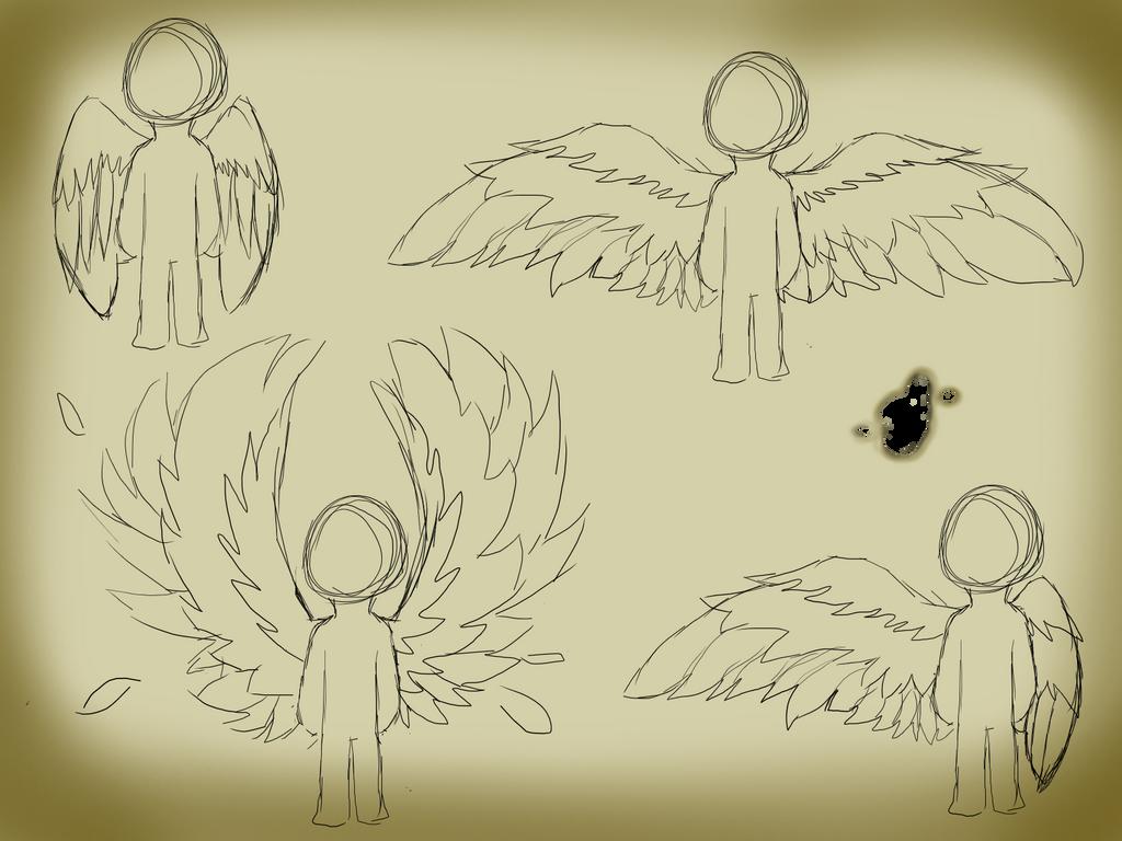 Wing Practice by TropicaIDeer