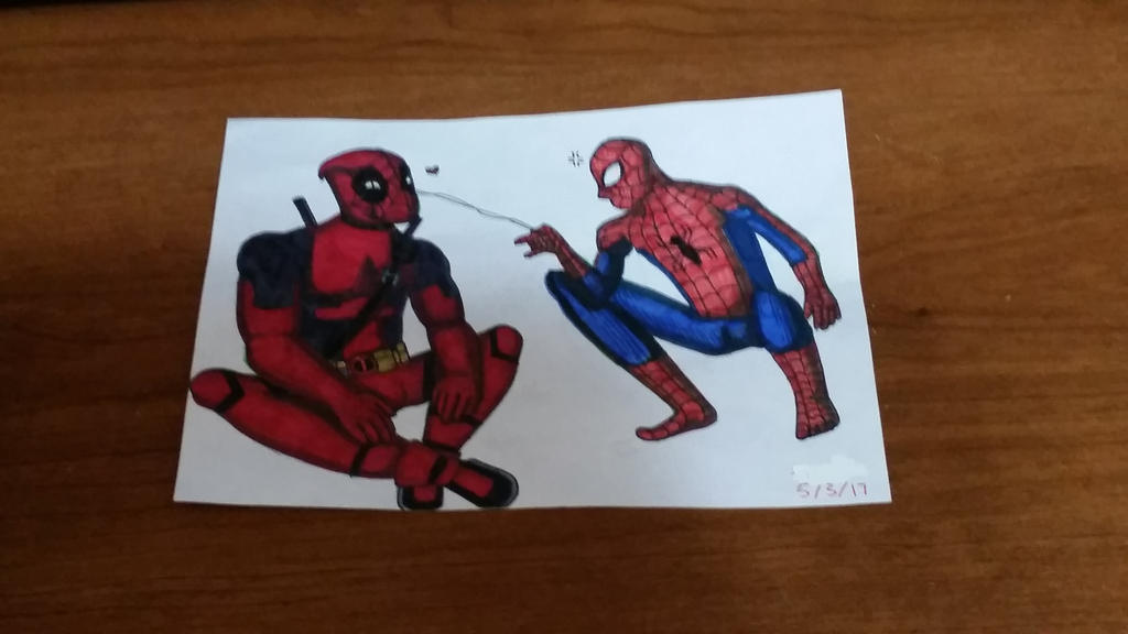 SpideyPool by TropicaIDeer