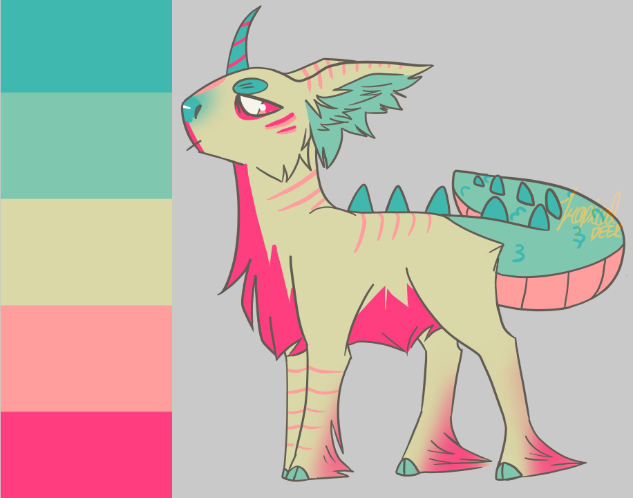 Palette Character Challenge by TropicaIDeer