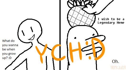 legendary meme YCH by TropicaIDeer