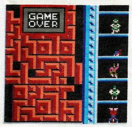 Sprite Stitch Quilt 2013 Tengen Tetris by ShanoaRavendare