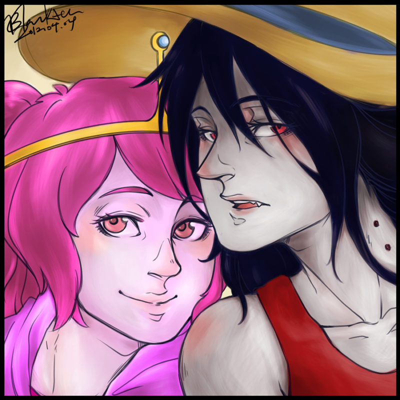 Marceline x PB by blackteakimi