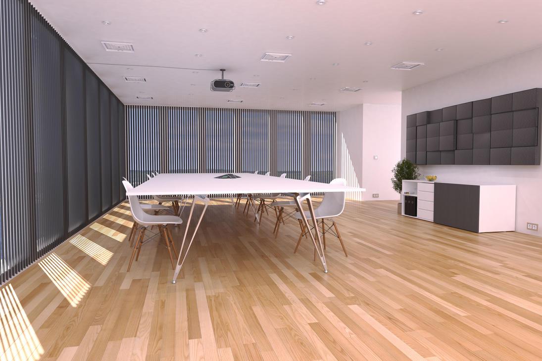 Lammhults Attach Table Interior Scene by OscarDjur on DeviantArt