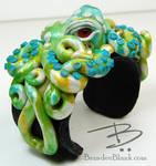 Spring Green Octopus Cuff