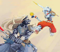 fight by jeacn