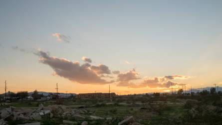 Sunset of a Desert Haven