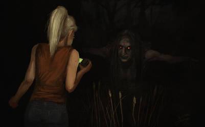 The demon at Kay's Cross