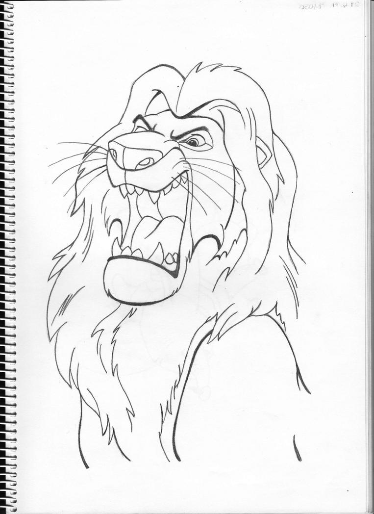 Mufasa by Pepples93