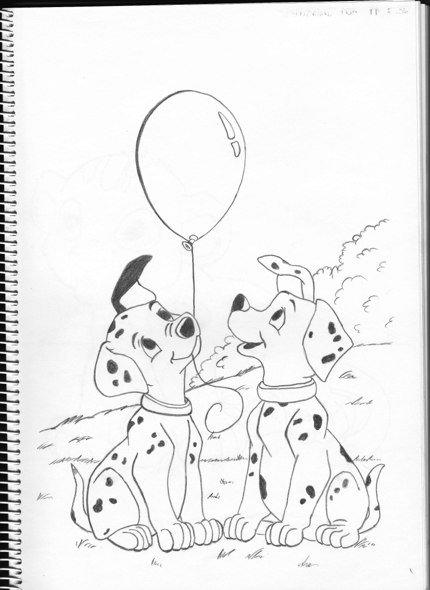 101 Dalmatians by Pepples93