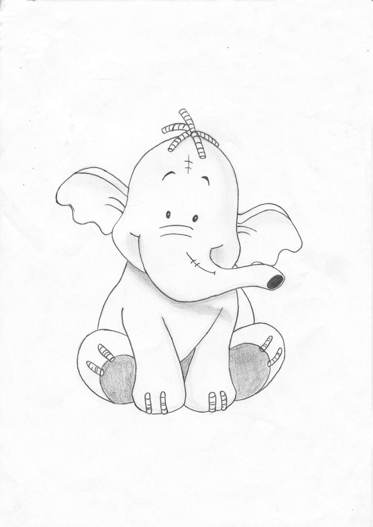 Heffalump by pepples93 on deviantart for Heffalump coloring pages