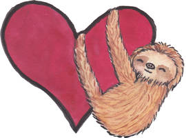 Valentins Sloth by Pepples93