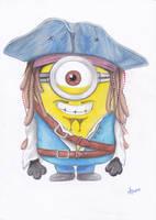 Captain Jack Sparrow Minion by Pepples93
