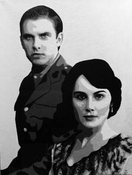 The Future Earl and Countess of Grantham