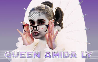 Queen Amada Ly Logo Mauve Gradient by beatmover